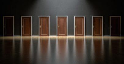 Row of Doors