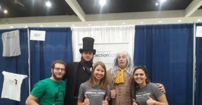 The Center for Election Science Staff at Politicon