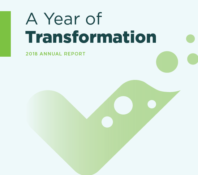 A Year of Transformation